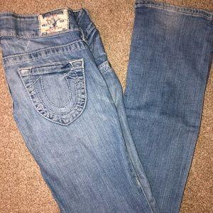 True Religion Light-wash Jeans